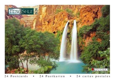 Tushita Postcard Book   FENG SHUI