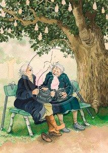 Inge Look Postcards   Old Ladies Aunties