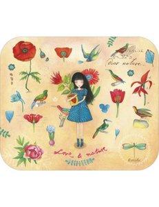 TV Art Postcard Mila | Love & Nature