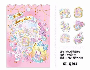 Little Fairy Tale Sticker Flakes Sack | Alice