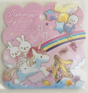 Sticker Flakes Sack Q-Lia | Kindness sky flavor