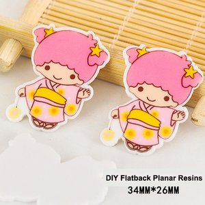 Flatbacks Planar Resin Charms | Little Twin Stars Lala Kimono Star