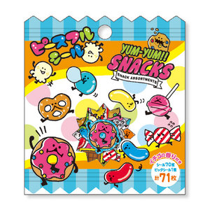 Sticker Flakes Sack Mindwave | Yum Yum Snacks