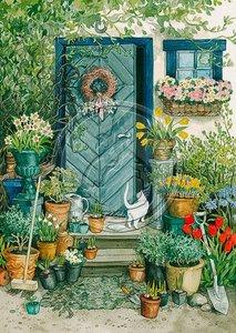 Inge Look Nr. 109 Postcards Garden   Door