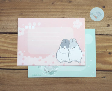 Envelopes Machiko Bunny (2 designs)