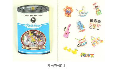 Photo Soup Sticker Flakes Sack   Toys