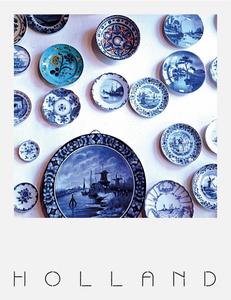 Pola Holland Postcard | Delfts Blauw
