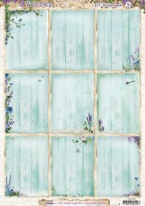 ATC Backgrounds / Pocketletter Cards Studio Light | la Provence