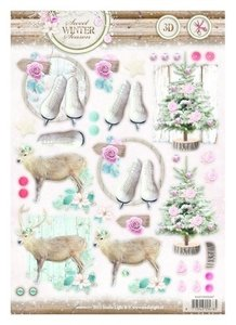 A4 Die cut sheet Studio Light | Sweet Winter Season