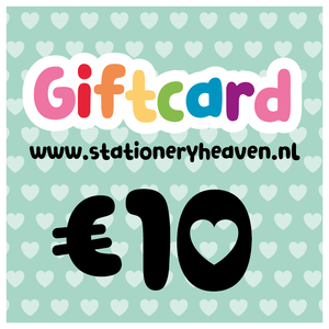 Stationery Heaven Giftcard - 10 euro