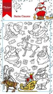 Marianne Design Clear Stamp | Hetty's Santa Claus
