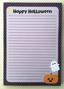 A5 Briefpapierblok | Happy Halloween