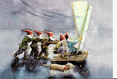 Inge Look Nr. 202 Postcards | Christmas