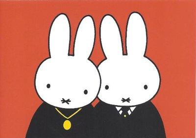 Nijntje Miffy Postcards   Opa en oma Pluis