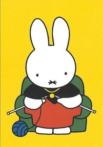 Nijntje Miffy Postcards | Oma breit