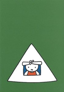 Nijntje Miffy Postcards | Nijntje in tent