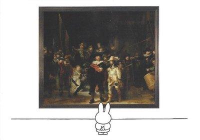 Nijntje Miffy Postcards | Nijntje voor nachtwacht