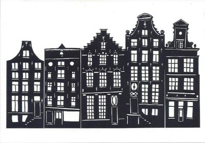 Museum Cards Postcard | Herengracht Prinsengracht