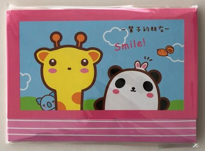 Mini Letter Paper Poca Giraffe | Smile!