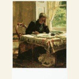 Postcard | Lady Writing