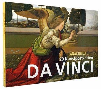 Anaconda Art Postcard Book   Da Vinci