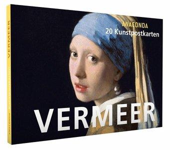 Anaconda Art Postcard Book | Jan Vermeer