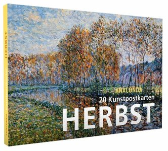 Anaconda Art Postcard Book | Herbst (Fall)