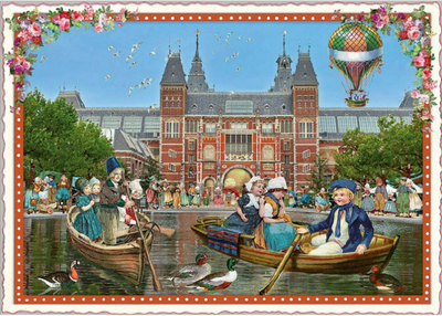 Postcard Edition Tausendschoen | Holland - Rijksmuseum
