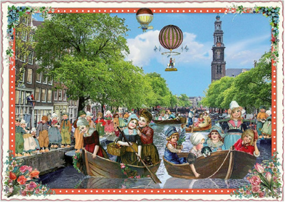 Postcard Edition Tausendschoen | Holland - Canals
