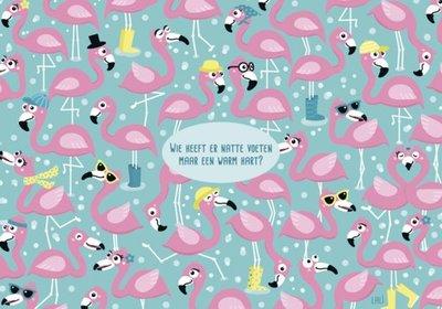 Lali Postcard | Zoekopdracht Flamingo