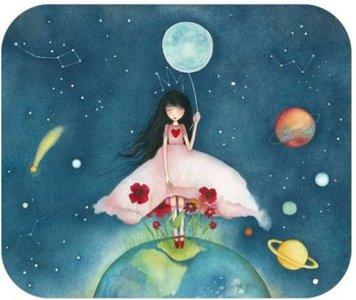 TV Art Postcard Mila | Miss Universe
