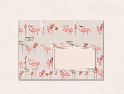 10 x Envelope TikiOno | Flamingo