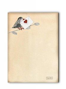 Memopad TikiOno | Love Message