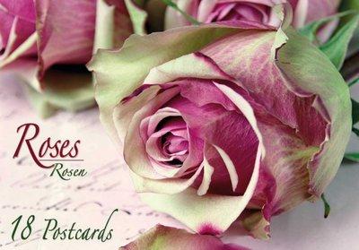 Tushita Postcard Book | Roses