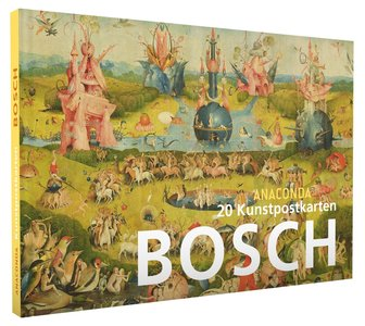 Anaconda Art Postcard Book | Hieronymus Bosch