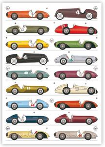 Postcard   Race Car