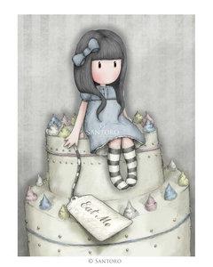 Santoro Gorjuss Sweet Cake Greetings Card
