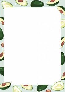 A5 Letter Paper Pad crissXcross | Avocado