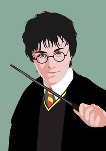Pop Art Postcard | Harry Potter
