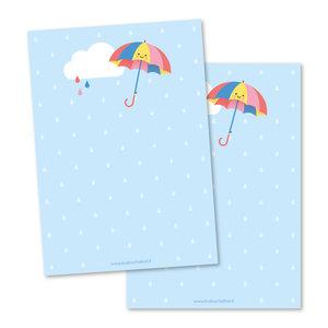 Memo pad Studio Schatkist | Paraplu