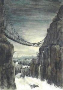 Gallery Cards Postcard | Marit Törnqvist, The Karma Falls