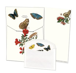 Writing Set | Insecten, Maria Sibylla Merian, Teylers