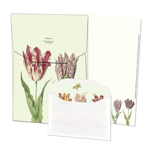 Writing Set | Tulpen/Tulips, Jacob Marrel, Collection Rijksmuseum