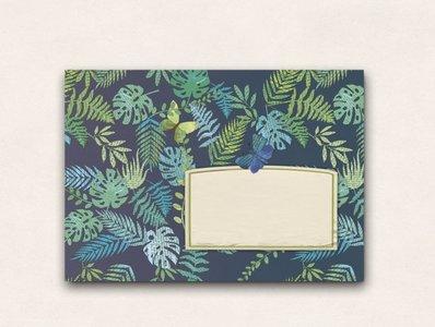 10 x Envelope TikiOno   Nachtwald
