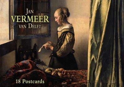 Tushita Postcard Book   Jan Vermeer van Delft