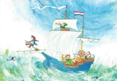 Gallery Cards Postcard | Mies van Hout, Al die willen te kaap'ren varen