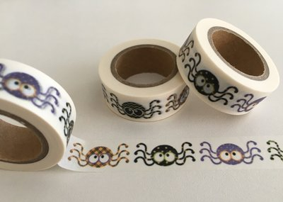 Washi Masking Tape | Cute Spiders