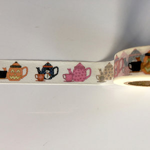 Washi Masking Tape | Pumpkin Tea