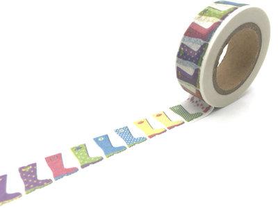 Washi Masking Tape | Rain Boots