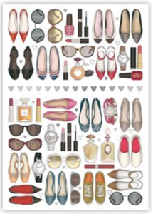 Postcard | Shoes and Make-Up